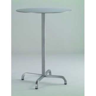 "30"" Round Aluminum Bar Table"