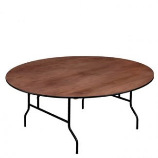 "30"" Round Folding Banquet Table"