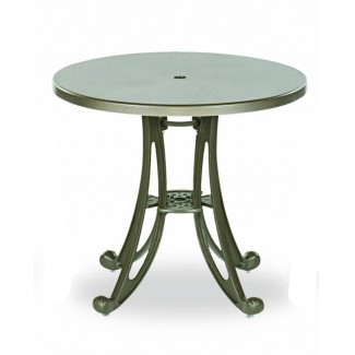 "30"" Round Plastisol Table - Solid Top"