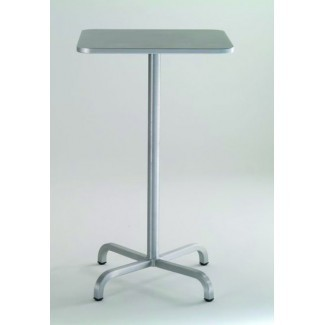 "30"" Square Aluminum Bar Table"
