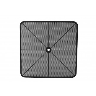 "30"" Square Micro Mesh Radius Corner Table Top"