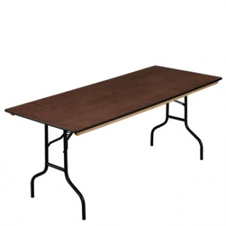 "30"" x 48"" Folding Banquet Table"