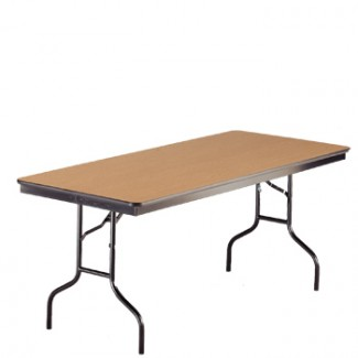 "30"" x 60"" Folding Banquet Table"