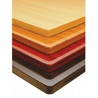 Restaurant Table Tops 36x60 Wood Grain Resin Restaurantfurniture Com
