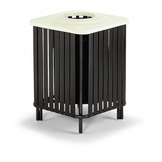 32-Gallon Deco Trash Can with Fiberglass Top MT1600R