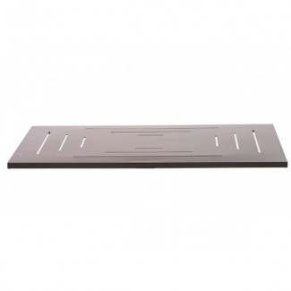 "32"" Square Aluminum Slat Table Top"