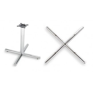 "36"" Cross Table Base Starline Series, 5 Piece"