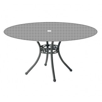 "36"" Round Cast Summit Umbrella Table with Cast Top 8Z36U"