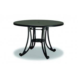 "36"" Round Faux Wood Table"