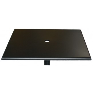 "36"" Square Solid Metal Table Top"