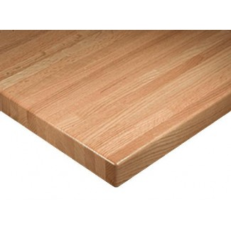 "36"" Square Solid Wood Premium Butcher Block Table Top"
