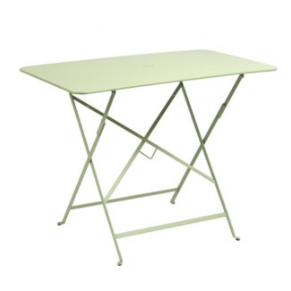 "38"" x 22"" Folding Bistro Table with Parasol Hole"