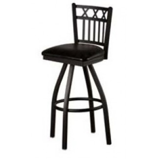 3X Vertical Back Swivel Metal Bar Stool SL2164-S