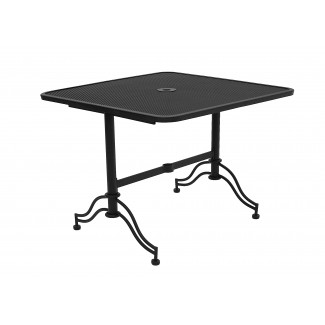 "40"" Square ADA Compliant Micro Mesh Restaurant Table"