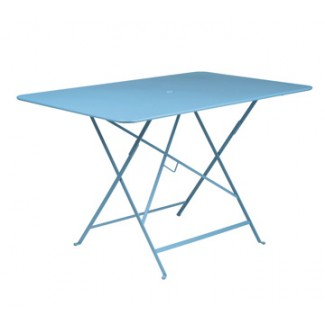 "46"" x 30"" Folding Bistro Table with Parasol Hole"