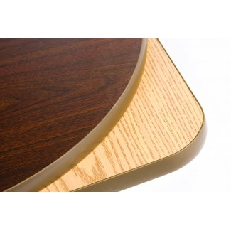 "48"" Round Two Sided Restaurant Table Top 48RARR"