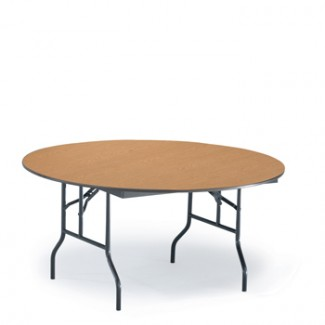 "60"" Round Folding Banquet Table"