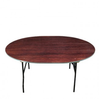 "72"" Round Folding Banquet Table"