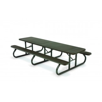 8' Plastisol Portable Picnic Table