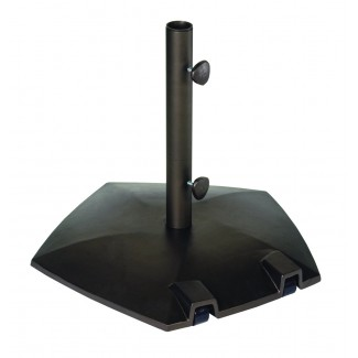 80 lb Palos Verdes Pentagon Umbrella Stand with Wheels