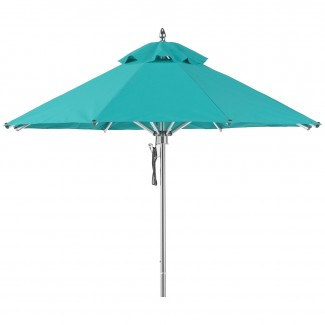 845 Greenwich 7.5ft octagon Portola Aluminum Commercial Hospitality HOA Pool Restaurant Patio Umbrella