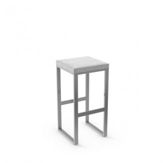 Aaron 40039-USNB Hospitality distressed metal bar stool