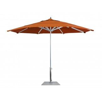 AAT118 Rodeo 11 foot octagon commercial aluminum restaurant umbrella