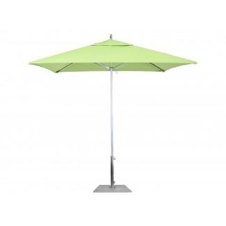AAT75754 Rodeo 7.5 foot square commercial aluminum restaurant umbrella