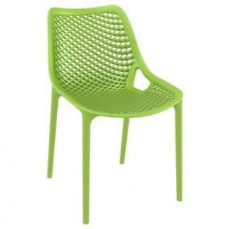 Air Stacking Resin Side Chair - Tropical Green