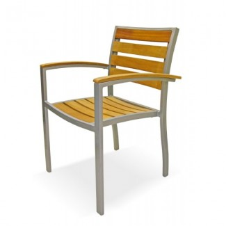 Mediterranean Stacking Arm Chair