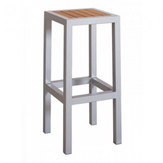 Aluminum Backless Bar Stool