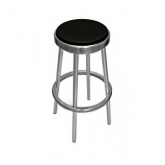 Classic Aluminum Backless Bar Stool