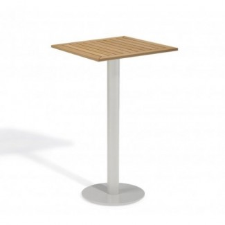 Aluminum And Wood Composite Restaurant Bar Tables Carrillo 24