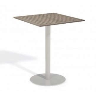 Aluminum And Wood Composite Restaurant Bar Tables Carrillo 32