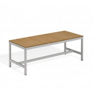 "Travira 48"" Backless Bench - Tekwood Natural"