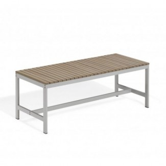 "Travira 48"" Backless Bench - Tekwood Vintage"