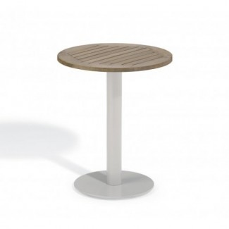 "Travira 24"" Round Bistro Table - Tekwood Vintage"