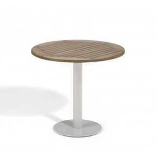 "Travira 32"" Round Bistro Table - Tekwood Vintage"