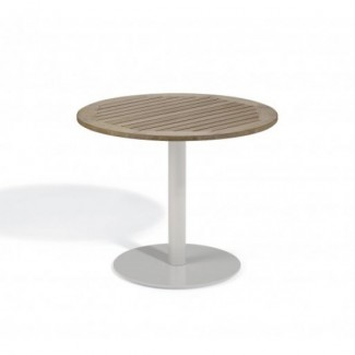 "Travira 36"" Round Bistro Table - Tekwood Vintage"