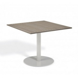 "Travira 36"" Square Bistro Table - Tekwood Vintage"