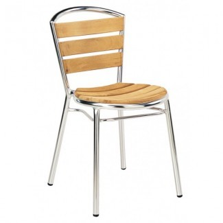 Aluminum Stacking Side Chair II