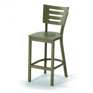 Aluminum Outdoor Restaurant Chairs Counter Stool