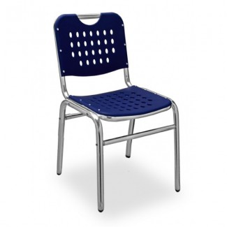Daytona Aluminum Stacking Side Chair