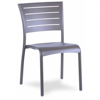 Jupiter Stacking Aluminum Stacking Side Chair