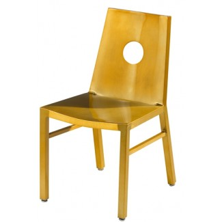 Micah Side Chair with Full Moon Back