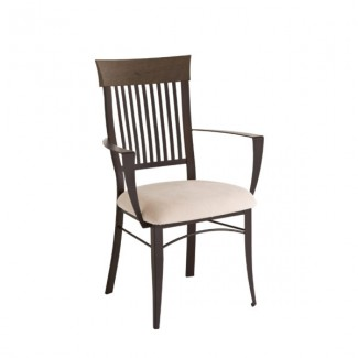 Annabelle 35419-USDB Hospitality distressed metal dining chair