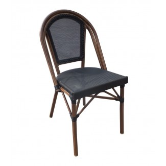 Aluminum Rattan Restaurant Chair - Antigua Side Chair