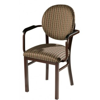 Arm Chair with Upholstered Seat and Back 932