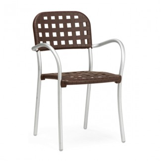 Aurora Stacking Restaurant Arm Chair
