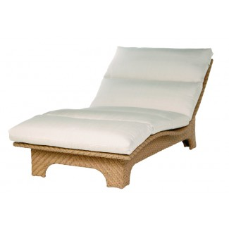"Avignon Cuddle Chaise Lounge with 4"" Seat and Backrest Cushions E631"